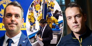 Montén gör sig redo för sitt fjärde JVM. I Hockeypuls podd berättar han om utmaningen i Tjeckien och drömmen med Juniorkronorna. Foto. Bildbyrån.