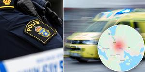 En man i 40-årsåldern är gripen misstänkt för grov misshandel i Falun. Foto: Johan Nilsson, Stina Stjernkvist, Google maps