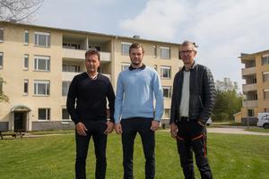 Niclas Österberg och Tobias Österberg köpte de två husen på Tallvägen av Erik