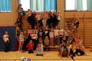 Barnen kom bland annat från Orsa, Lillhärdal och Östersund. Foto: Therese Jonsson.