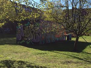 Graffitiväggen överlevde Länsmuseets chefsbyte.