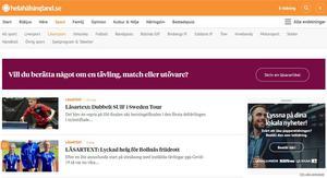 Artiklarna publiceras i tidningen och på www.helahalsingland.se/lasarsport.