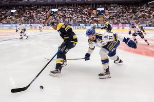 Läktarna var välfyllda när Leksand förlorade mot HV71. Bild: Daniel Eriksson/Bildbyrån