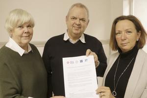 Nu är majoritetens politiska plattform klar som Birgitta Borg (L), Tom Rymoen (M) och Solveig Oscarsson (S) presenterade på måndagen.