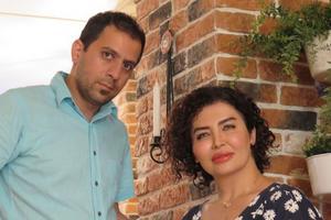 Somayeh Babaee och Ehsan Hamidi säljer sin persiska restaurang efter bara några månader.