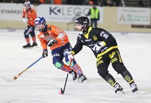 Niklas Gälman – rutinerad profil i Vetlanda som låg bakom mycket av det bästa när Vetlanda satte fart i första halvlek.