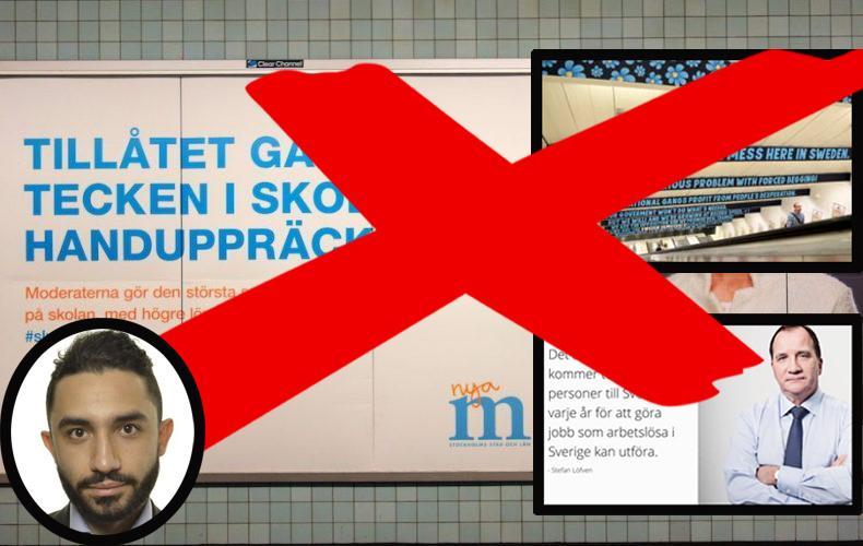 Unga centerpartister lagg ned svenska for invandrare