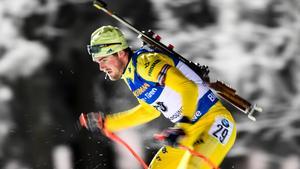 Fredrik Lindström och det svenska stafettlaget gjorde sin bästa insats sedan januari 2014. Bild: Pontus Lundahl/TT.
