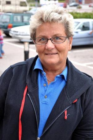 Lena Bergström, Sveg– Jag vill att ungdomarna får sysselsättning. Jag tycker synd om de som är arbetslösa, för de blir utanför.