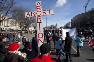 Abortfrågan är aktuell på många håll i världen. Foto: AP/Jacquelyn Martin)