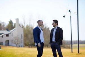 Foto: Erik OlssonJakob Koranyi och Peter Friis Johansson låter  Europas kammarmusikelit inta Ytterjärna i sommar.