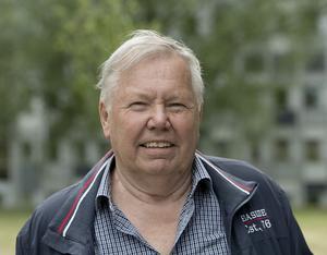 Skivbolagsdirektören Bert Karlsson. Foto: Maja Suslin / TT