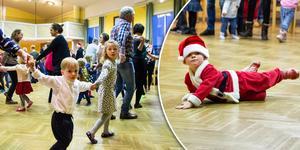 Julgransplundringen är en uppskattad händelse för de små.