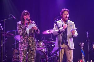 Susanne Bertlin och Martin Hanning Häggström kommer att vara konferencierer för kvällen – även i år.