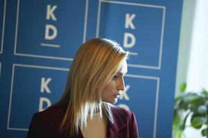 Ebba Busch (KD). Foto: TT