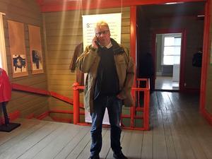 Kommunalrådet Hans Unander hoppas att det anrika huset ska fyllas med liv och rörelse.