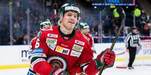 Kristoffer Gunnarsson gjorde under vintern ett mål och en assist på 41 matcher med Frölunda och Linköping. Foto: Michael Erichsen/BILDBYRÅN