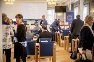 Totalt 46 företag var representerade på Näringslivsparlamentet i Härnösand.
