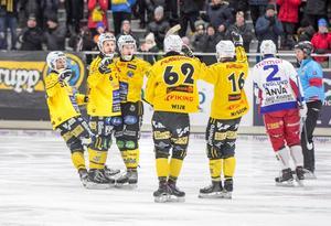 Broberg tog ledningen fyra gånger om mot Kalix – och till slut räckte det till två poäng.