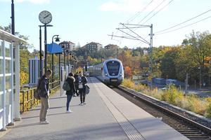 Gröndalsvikens station i Nynäshamn.