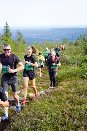 Totalt kom ärmare 2 000 deltagare till start i de olika loppen. Foto: Bagheera Fjällmaraton Sälen
