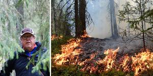 Skogsstyrelsen får stort genomslag för sin skogsdag med tema klimat och skogsbränder tycker Nils Frank vid Skogsstyrelsen. Foto: Torbjörn Ingvarsson/Robbin Norgren