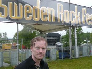 Allehanda Nöjes utsände Patrik Näslund - på plats på Sweden Rock Festival.