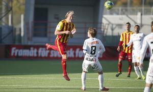 Anders Bååth vittnar om en rörig säsong för Syrianska – som dock fortfarande har chansen att klara sig kvar, med en omgång kvar att spela.