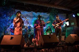 Genuine Mezziga spelade i stora ladan på inspirationsfestivalen under fredagen.