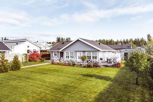 Enplansvilla på Galgberget i Falun. Foto: Kristofer Skogh/Husfoto