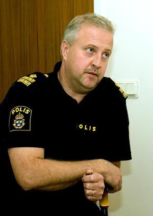 Bo Nordqvist, förundersökningsledare vid polisen i Kramfors.