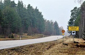 E16 mellan Borlänge-Djurås-Malung är en av vägarna som kan påverkas av Trafikverkets förslag.