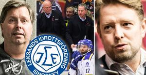 Thomas Johansson och Claes Bergström träffades tillsammans med Andreas Hedbom tidigare i veckan. Foto: Adam Johansson/Marcus Simm/Bildbyrån.