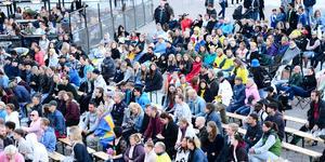 I onsdags var det en nervös publik som såg matchen mellan Sverige och Nederländerna.