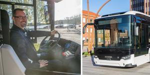 Mer ljusinsläpp och bättre säkerhet i Scanias nya elbuss.