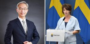Chefen för Taiwans representation i Sverige, Vincent Yao, anser att forskningsminister Matilda Ernkrans kan besöka Taiwan utan bryta mot Sveriges ett Kina-politik.