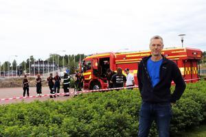 Anders Nordlund hoppas att Lugnets utomhusbad ska kunna öppna under lördagen.