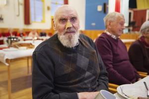 Vret Erik Petterson bor ensam och hade sett fram emot julfesten i Folkets hus.