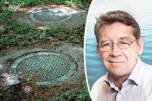 Björn Sjöberg påpekar att små avlopp står för en betydande del av utsläppen till hav, sjöar och vattendrag. Bild: Björn Lindgren/TT & Maja Kristin Nylander/Havs- och vattenmyndigheten