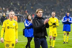 Gustavsson var tagen efter att GIF åkt ur Allsvenskan. Bild: Andreas Sandström/Bildbyrån