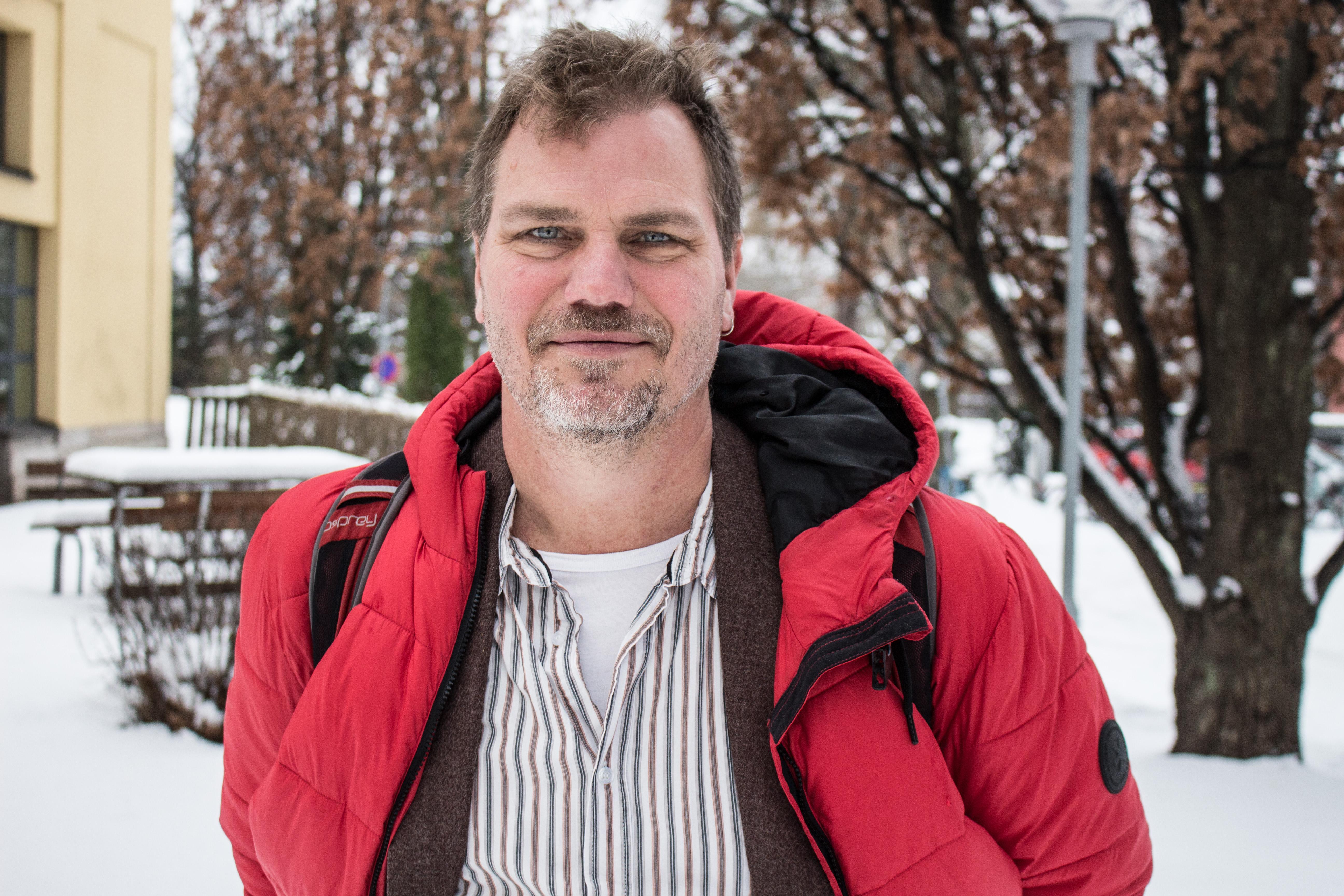 Jonas Lennerthson är Socialdemokraternas kandidat till kommunalrådsposten i Falun.