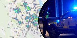 Många narkotikabrott upptäcks i polishuset.