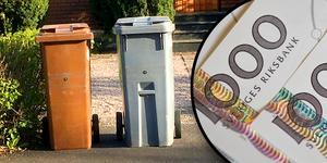 Renhållningstaxan i Säter höjs vid nyår. Avgiften kan variera med tusenlappar för villaägarna.