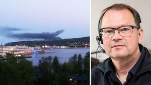 Örjan Stenlund vid räddningstjänsten. Bild: Läsarbild/arkiv.