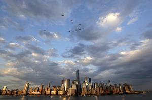 Det har gått 15 år sedan Per Bjurman kom till New York - och han tycker sig fortfarande leva i en dröm. Foto: AP Photo/Julio Cortez/TT
