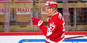 Anton Wedin har utsetts till månadens spelare i SHL. Bild: Pär Olert/Bildbyrån