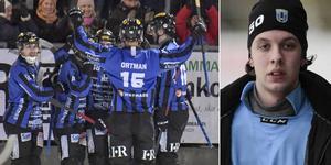 Anton Andersson (till höger) var en gigant när Sirius vann stort mot Vänersborg. Foto: Janerik Henriksson (TT) / Rikard Bäckman