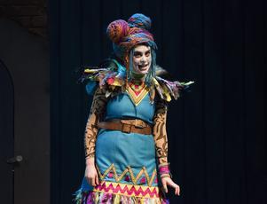 Emily Kyte som Papagena. Fotograf: Andreas Hylthén.