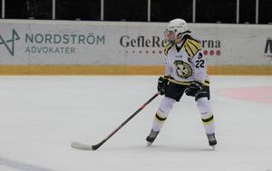 Tilde Byström, lovande hockeyspelare i Brynäs.