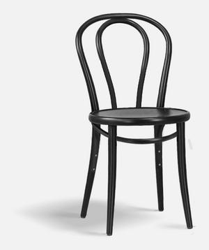 August Thonets stol Chair 18, 1870 kronor på Olsson & Gerthel.